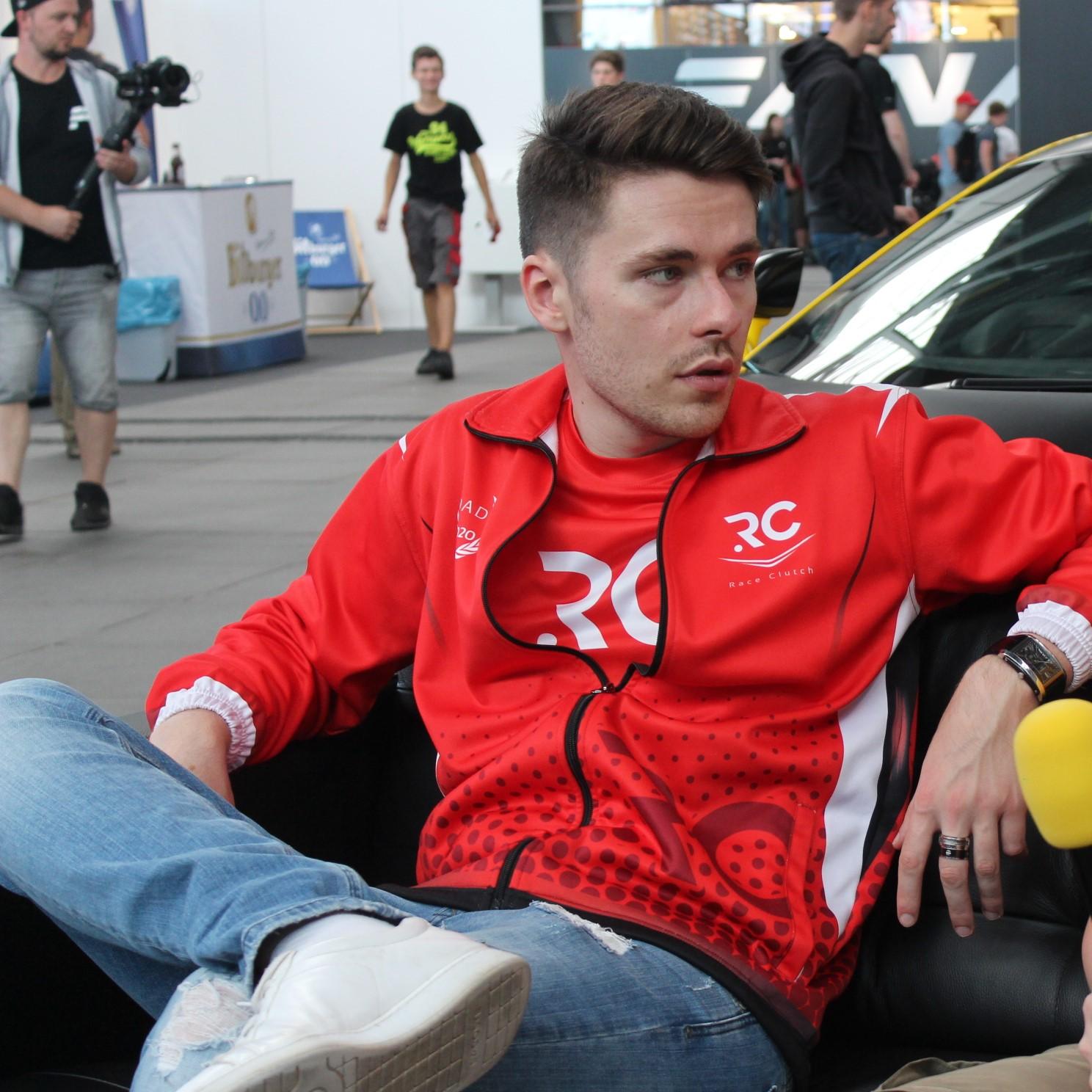 Richard Arnaud, Président de Race Clutch et Manager de l'équipe Esport Renault F1-Team.